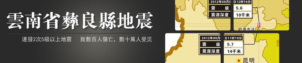 雲南彝良地震