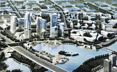 ■渖阳铁西现代建筑产业园规划效果图.