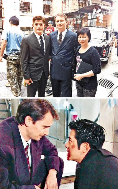 20年前河國榮和城城在《 廉政行動組》中合作,去年《浮城》再見面,2人外貌都沒甚變化。
