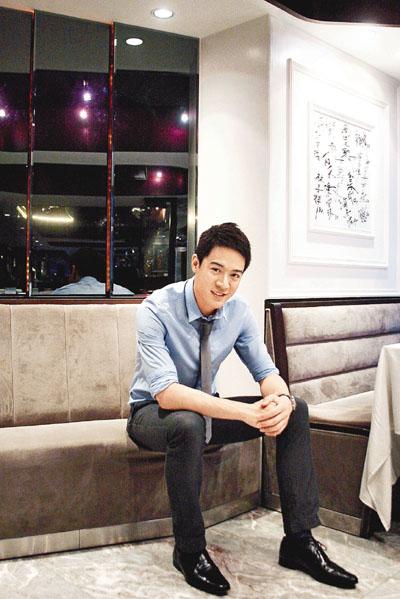 陳智燊(Jason)被捧做新一代小生,將於新劇《幸福摩天輪》擔正做男主角。