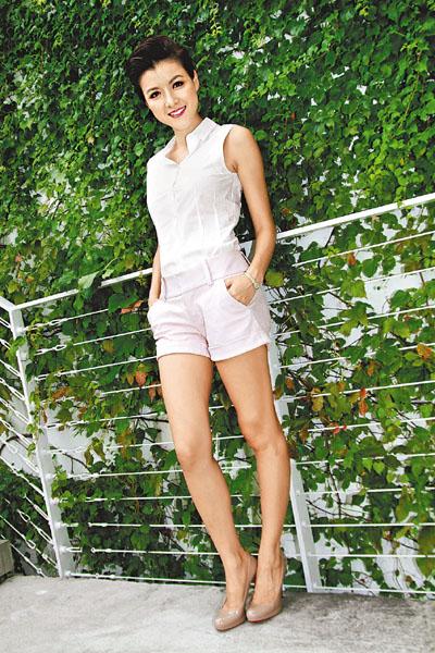 陳茵媺飾演劇中悲劇人物田愛娣,與她真人愛笑開心的形象大相逕庭。