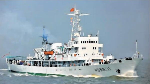 海洋局重組掛牌 新海警塗裝曝光