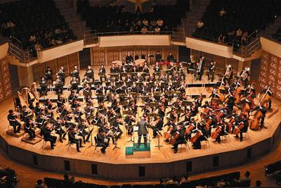 ■10月28日晚,馬捷爾與港樂及一班青年樂手一起呈現《紐倫堡的名歌手》序曲。