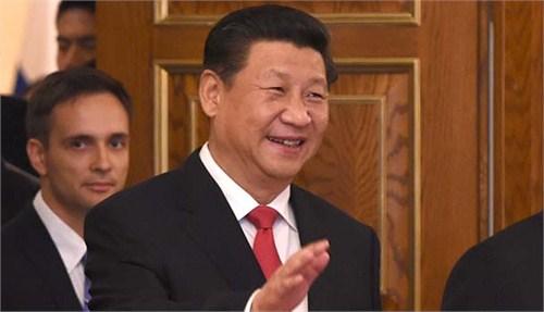 中国国家主席习近平、哈萨克斯坦总统纳扎尔巴耶夫、吉尔吉斯斯坦