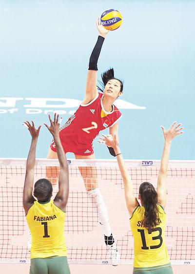 ■排球暂成为里约奥运最受欢迎的比赛项目.资料图片