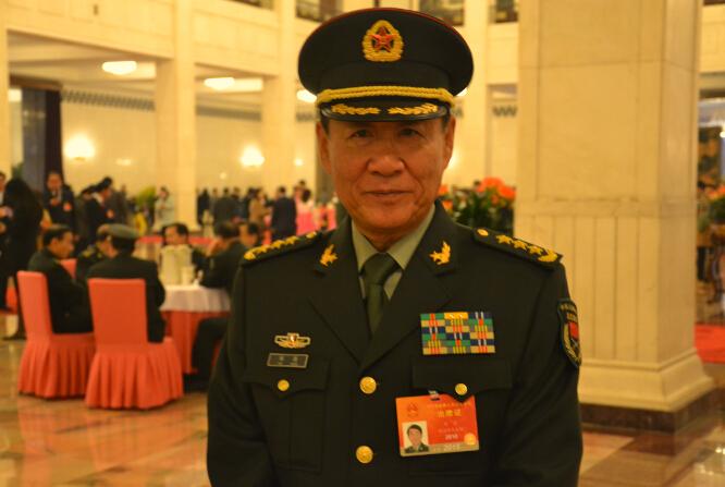 刘源谈军队更大 老虎 你懂的