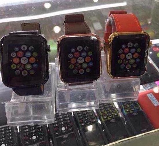 見識深圳速度 蘋果手錶山寨版上市