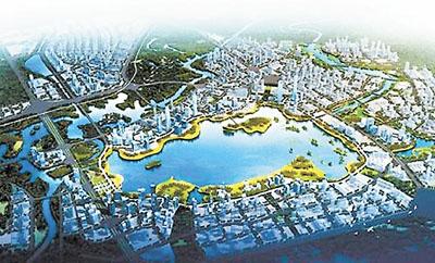 ■天府新区兴隆湖规划效果图. 网上图片