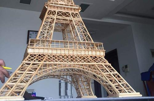 iPhone6/6s&Plus純手工創作浪漫巴黎鐵塔水鑽貼花手機皮 …_插圖