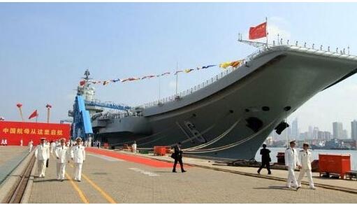 中國在建4艘航母曝光 核航母噸位外洩