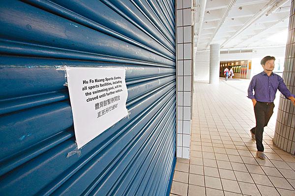 ■城大昨交代校內設施重開時間表。劉國權  攝