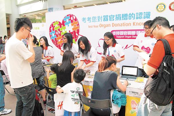 ■中央器官捐贈登記名冊啟動近8年,惟現僅約20萬人登記。