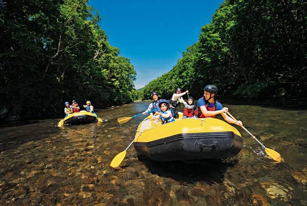 ■旅展今年有展商主攻親子生態遊,主打一家人感受自然。 旅展展商供圖