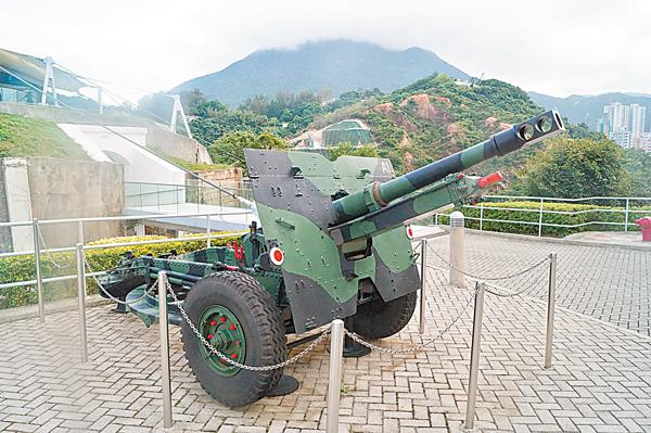 ■二戰時駐港英軍使用的火炮