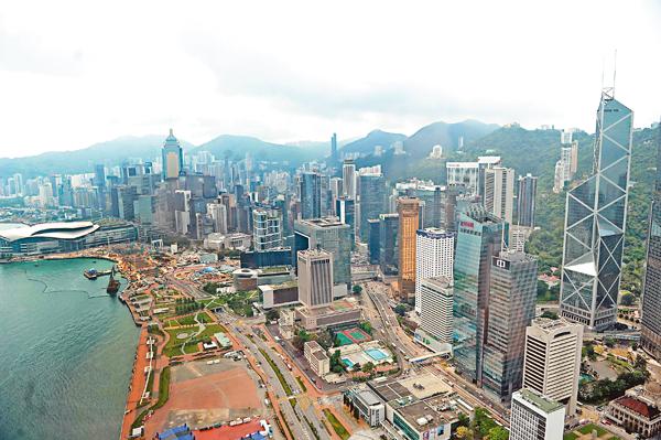 ■香港經濟近期雖然受外圍影響而放緩,但經濟仍能持續穩健發展。資料圖片