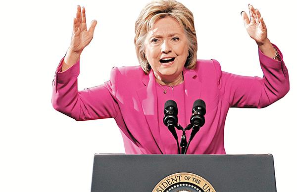 ■希拉里雖不獲起訴,但電郵風波對她的影響仍未結束。 美聯社