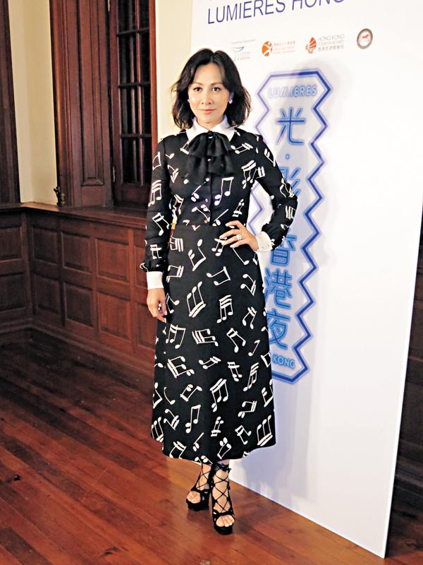 ■劉嘉玲任「光影大使」宣傳介紹香港歷史文化的光影展�矷C