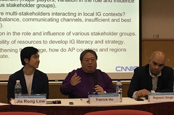 香港中華能源基金會常務副主席兼秘書長何志平。