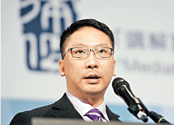 ■律政司司長袁國強。
