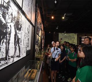 未來之星參訪南京大屠殺紀念館感悟家國情懷