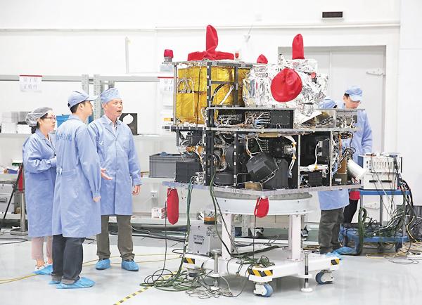 ■中國量子衛星將於本月中下旬擇機發射升空。 資料圖片