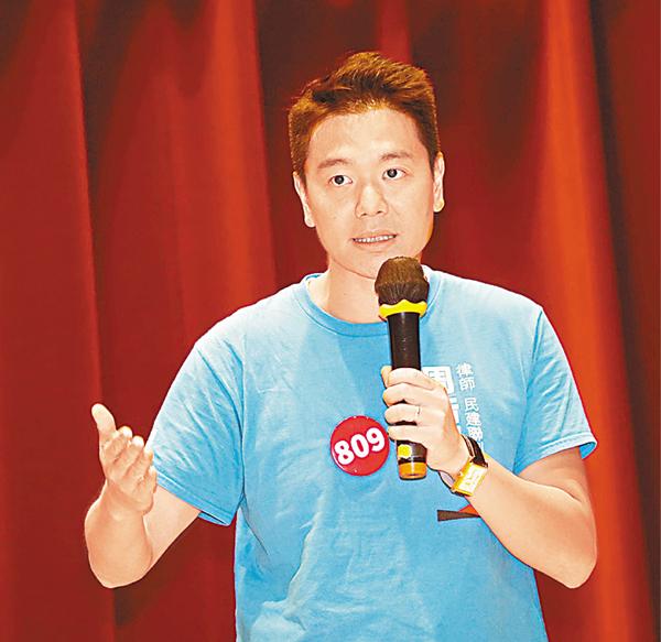 ■周浩鼎表示,十分認同要改善長者的醫療問題。劉國權 攝
