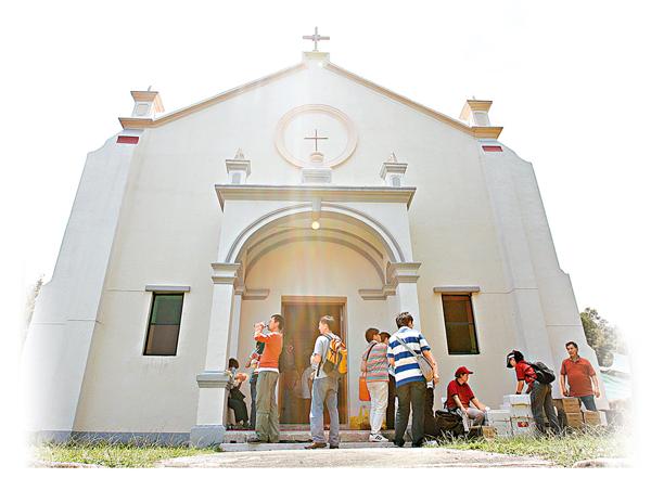 ■村內的天主教堂仍然運作,作崇拜等活動。     資料圖片