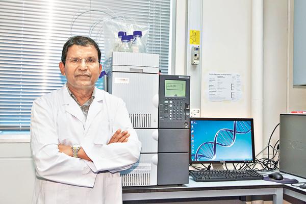 ■Shah獲獎的工作是其對γ氨基丁酸(GABA)乳酸菌的開創性研究,對開發具降血壓活性作用的乳品,有極重要的工業意義。 港大供圖