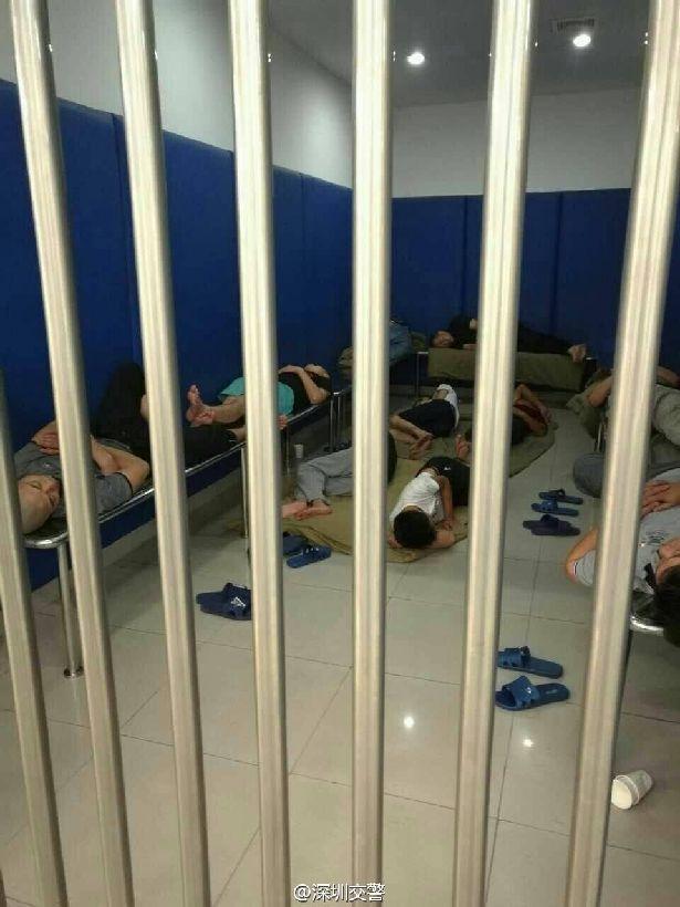 21名醉駕者的中秋夜。