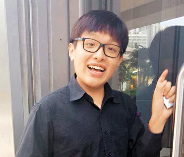 ■嶺大生周韋樂昨就襲擊傷人指控到庭應訊。