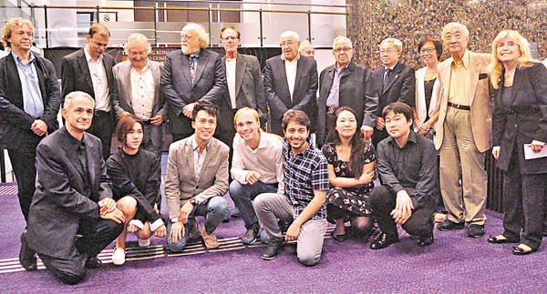 ■第四屆香港國際鋼琴大賽落下帷幕,25歲音樂家 Luka Okrostsvaridze奪得冠軍,23歲本港選手曾憲逸名列第四。 陳文華  攝