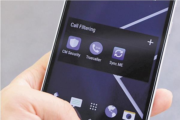 ■涉嫌公開電話號碼持有人身份的3個手機應用程式。 傳真社圖片