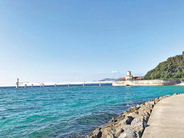 ■除了欣賞沖繩的風景,途中遇到的人和事更值得回憶。 作者供圖