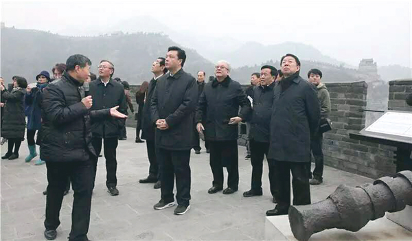 ■北京市政協調研組赴昌平調研。               資料圖片