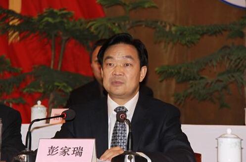 彭家瑞任新疆自治区人民政府副主席