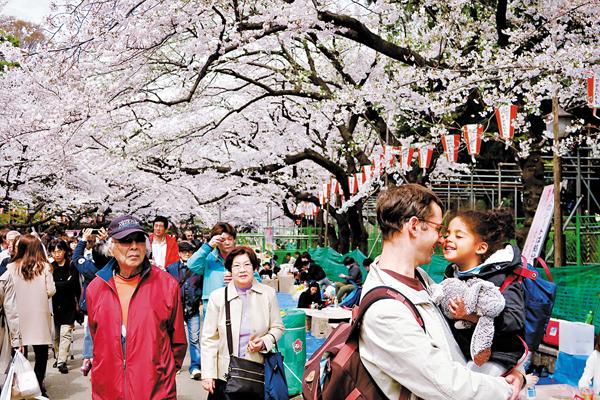 ■日本是港人外遊熱點之一。 資料圖片