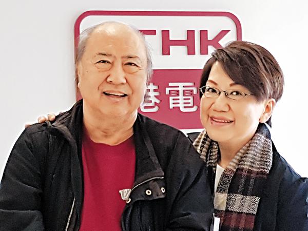 ■鄧偉雄(左)偏愛古龍小說。 作者提供