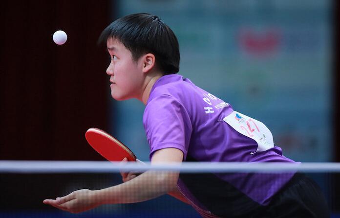 麥子詠在世青賽奪得銀牌。(圖片來源:香港乒乓總會)