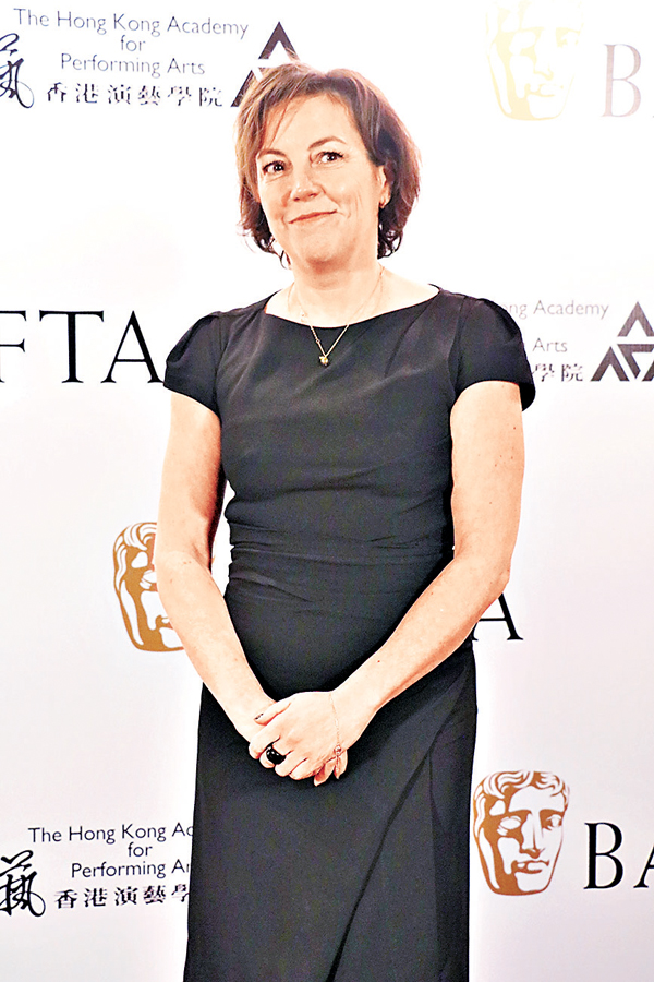 ■Nina Gold是英國著名的選角導演。 陳敏娜  攝