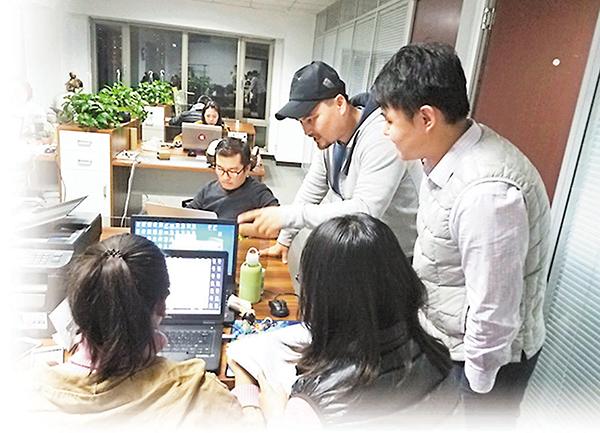 ■艾地和他的團隊。 網上圖片