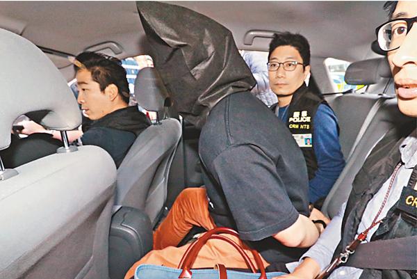 ■涉襲擊記者被捕的男子,懷疑亦有份向羅冠聰施襲。 劉友光 攝
