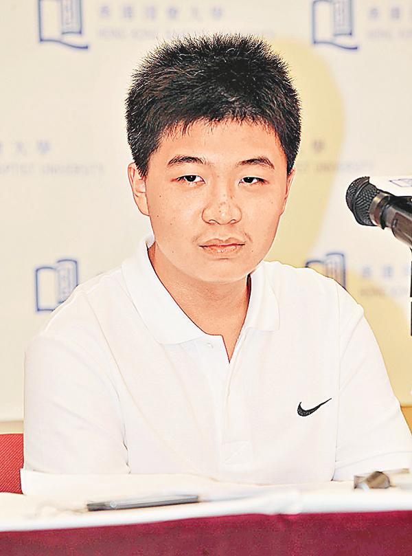 ■2007年以9歲之齡破格入大學的香港數學神童沈詩鈞。資料圖片