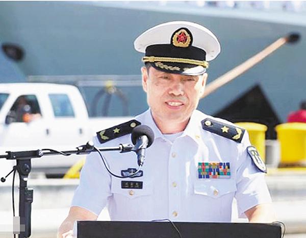 南海舰队司令沈金龙接掌海军