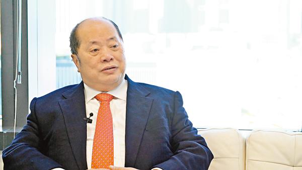 ■張華峰稱,業界期待政府爭取亞投行在港設立營運中心能夠有突破。 資料圖片