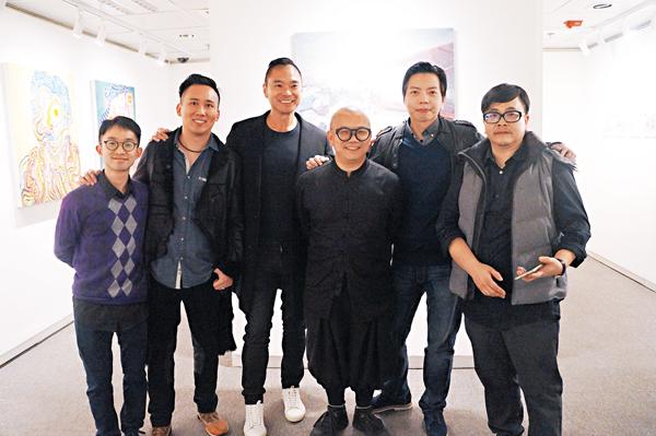 ■左起: 駱子斌、陳本立、鄧達智、鄧鉅榮、姚志良、郭遠堅