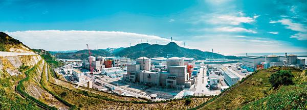 ■陽江核電3台運行核電機組2/3指標達到世界先進水平。 北京傳真