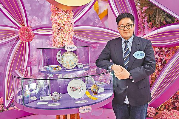 ■林俊佑攜30件作品來港展出。 張岳悅 攝