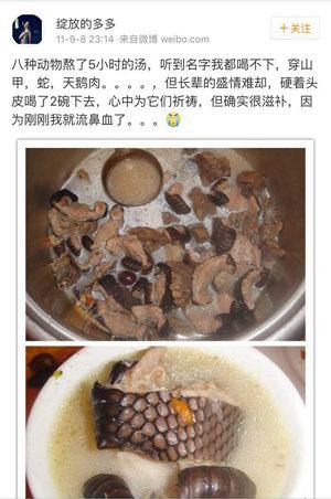 近日有深圳網民被「扒」出多次食用穿山甲(網絡圖片)