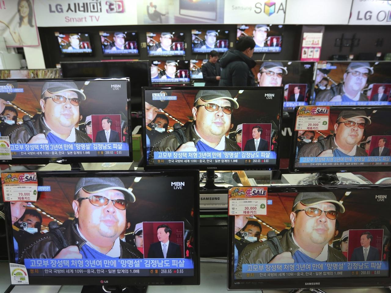 朝鮮傳媒大篇幅報道金正男被殺。(美聯社)