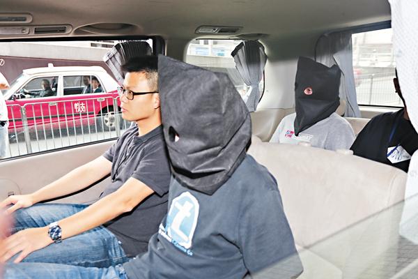 ■曾參與衝擊立法會的兩名青年涉面膜冰毒案被重囚。 資料圖片